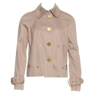TORY BURCH Jacket Short trench swing coat 10
